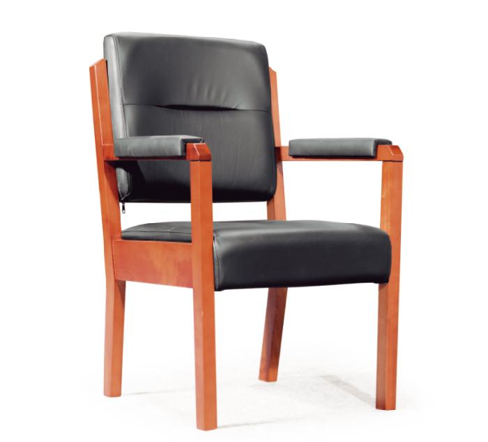 实木办公椅 木质会议椅