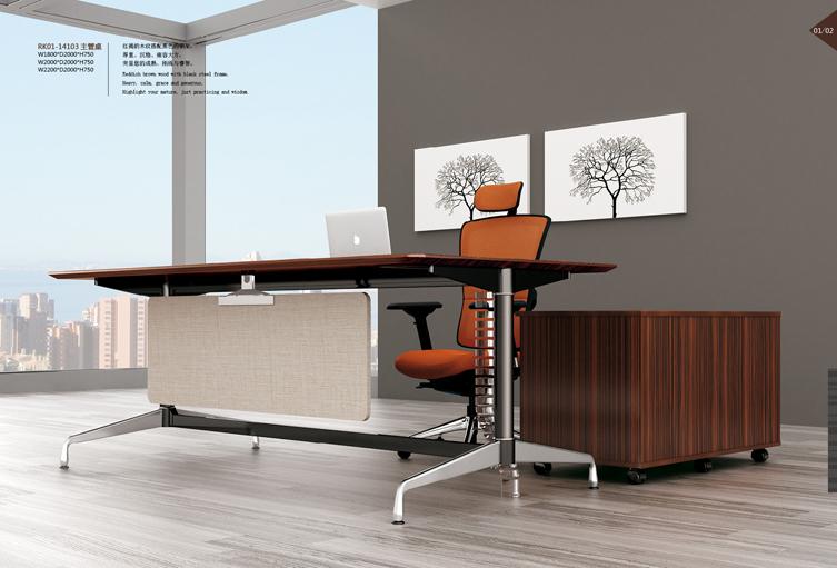美耐家具 办公家具主管经理办公桌 老板桌电脑桌大班桌特价