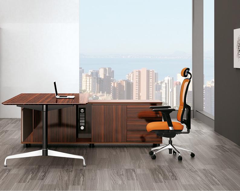 美耐家具 时尚现代简约老板桌 大班台 经理桌主管桌 简易办公桌