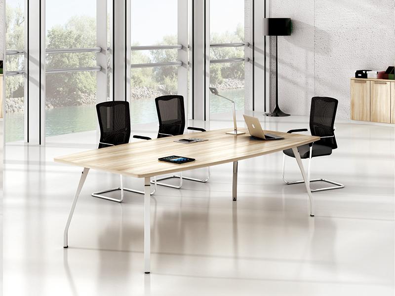 美耐家具 会议长桌 会议桌椅组合简约 现代 条形桌洽谈开会桌