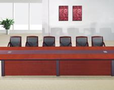 油漆贴实木木皮会议桌油漆桌会客桌开会桌