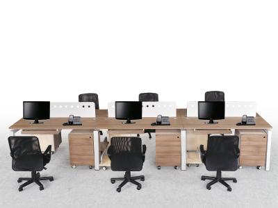 办公家具屏风工作位职员桌电脑桌四人六人组合办公台桌面屏风办公卡位