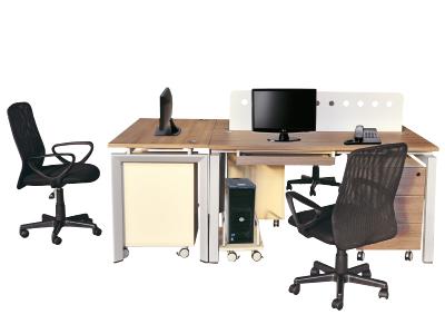 组合办公台 屏风组合台 职员办公桌 三人位组合台