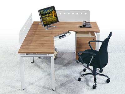 组合办公台 屏风组合台 职员办公桌 单人组合台