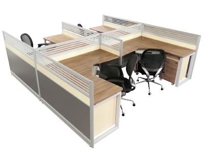 板式办公桌 职员桌 员工 台组合高档办公屏风台