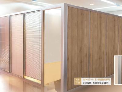 办公家具厂家直销 玻璃隔断 铝合金办公室高隔断墙 百叶窗隔断