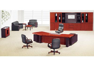 实木大班桌大班台老板台办公桌主管桌