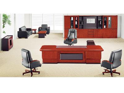 美耐家具实木大班桌大班台老板台办公桌主管桌