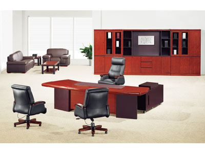 办公家具大班台 油漆老板桌 大班桌老板台 实木办公桌