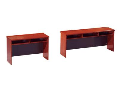 条形桌会议台桌 木皮长条桌 开会培训桌