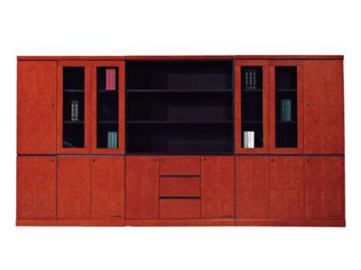 组合文件柜 实木皮文件柜 书柜 资料柜 档案柜