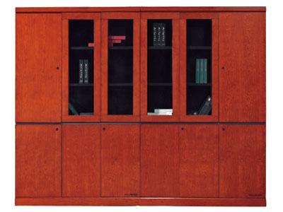 美耐家具油漆贴木皮办公资料柜 文件柜 档案柜 书柜