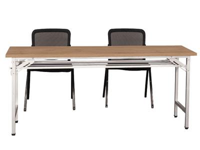 【美耐办公家具映橡系列】——折叠条桌MN03-158