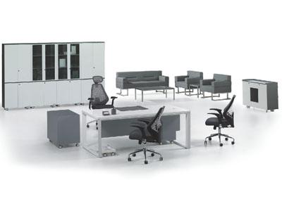 现代简约办公家具大班桌 老板台 总裁桌 经理主管桌
