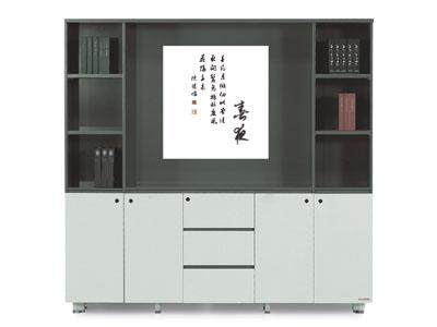 【美耐办公家具墨意系列】——五门装饰柜MN04-11106