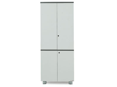 【美耐办公家具墨意系列】——铝框门文件柜MN04-11111