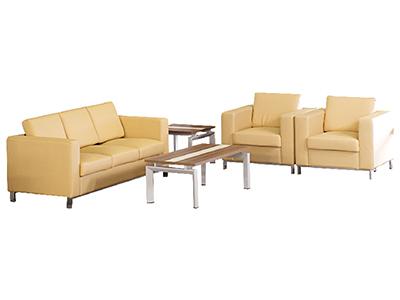 办公沙发 会客沙发茶几组合 简约接待商务洽谈沙发