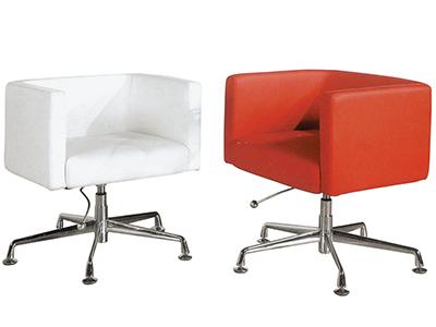 洽谈单人位休闲围椅 简约现代时尚商务办公椅