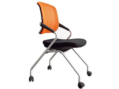 简约 培训椅 会议椅 新闻椅 接待椅 网布椅 可移动椅
