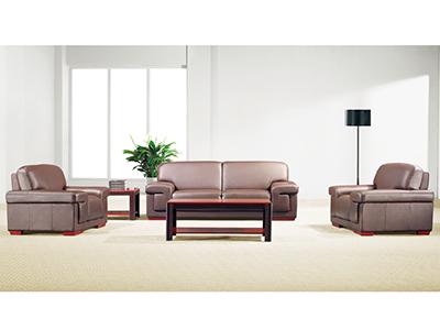 办公家具接待沙发 真皮沙发 贵宾沙发 三人单人组合沙发 会客室沙发