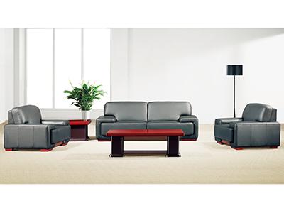 时尚现代办公沙发 接待室洽谈三人位简约沙发 会议沙发 贵宾沙发