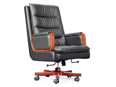 办公牛皮老板椅 真皮大班椅 可躺办公椅 大班椅