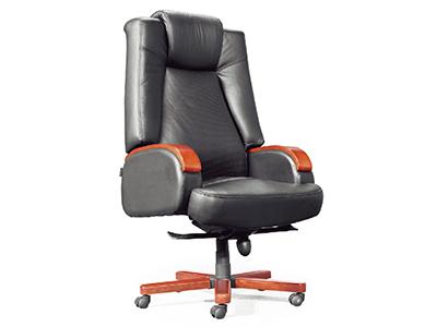 现代办公椅 老板椅 班台桌椅 简约大气大班椅