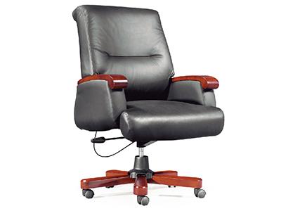 电脑椅 转椅 办公椅子 老板椅 真皮中班椅