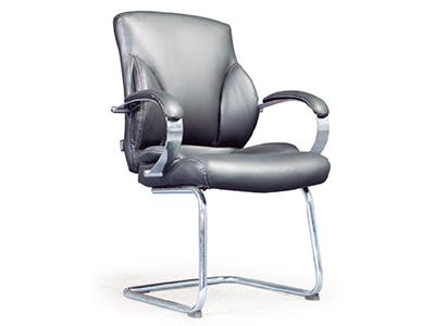 办公家具时尚新款椅会客椅电脑椅中班班前脚会议钢制黑色