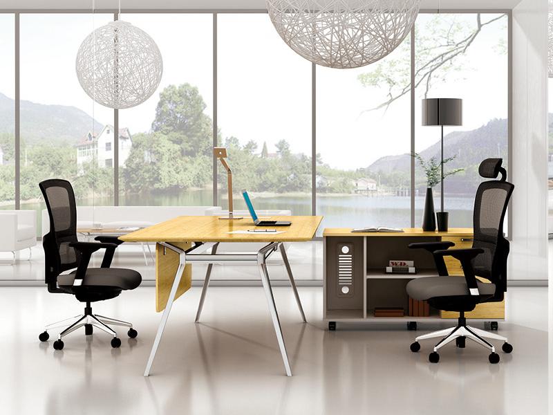 美耐家具 简约时尚办公家具办公桌 大班桌大班台主管桌
