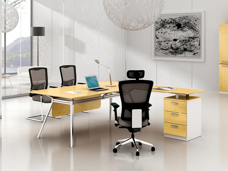 美耐家具主管桌商业办公桌家具时尚大班桌大班台 简约现代经理桌