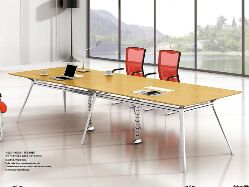 美耐家具 会议桌大小型组合会议桌 简约现代会议桌洽谈桌南京