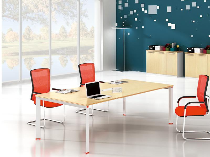 美耐家具 会议桌简约现代 时尚洽谈桌 办公桌咨询桌会客桌接待桌