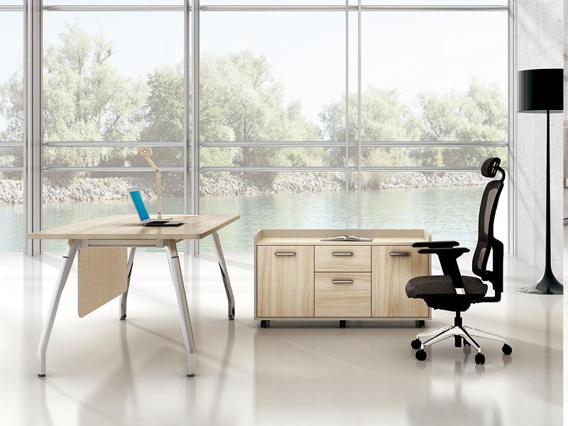 美耐家具办公桌主管桌老板桌时尚家用书桌经理桌大班桌台电脑桌椅