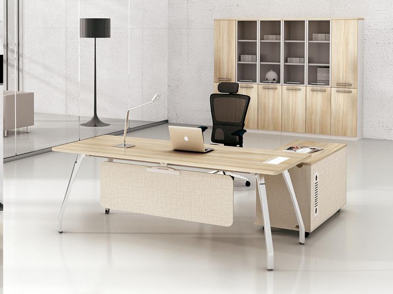 美耐家具 简约现代办公家具 板式主管桌时尚办公老板桌 大班台经理桌
