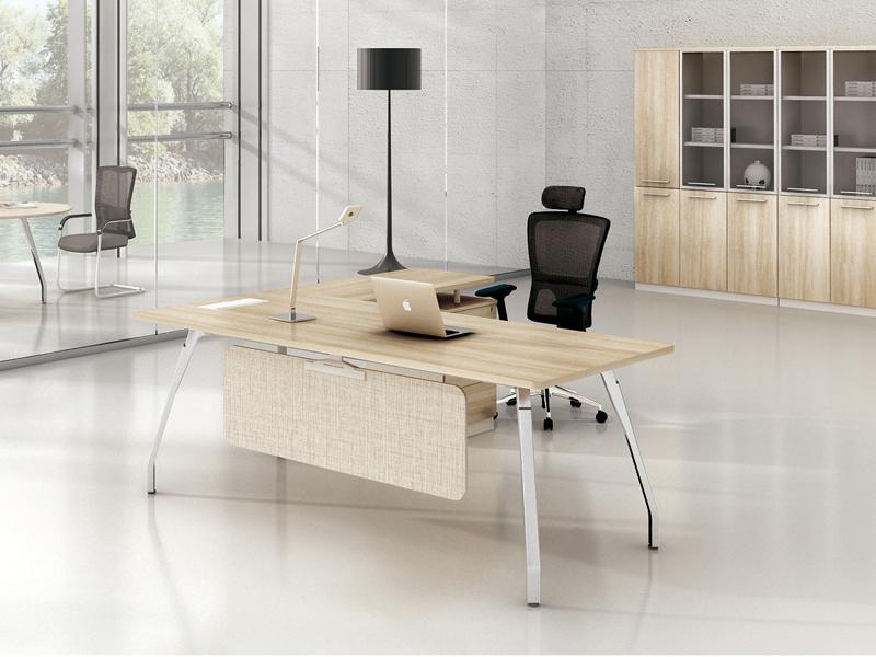 美耐家具 办公家具办公桌 时尚老板桌 简约米大玫台 办公主管桌