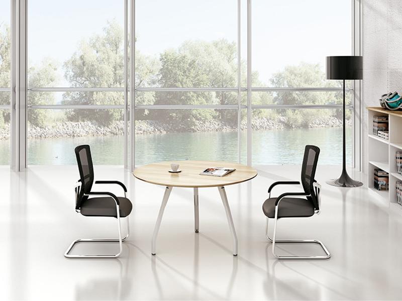 美耐家具 会议桌洽谈桌简约现代办公桌小型会议桌椅