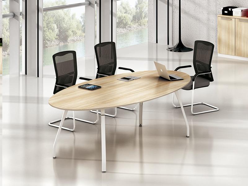 美耐家具 大小型会议桌椭圆会议桌简约现代会议桌培训桌洽谈桌时尚简约